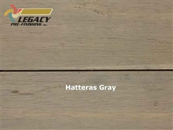 Prefinished Cedar Shiplap Siding - Hatteras Gray