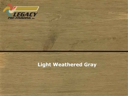 Cedar Prefinished Exterior Shiplap Siding - Light Weathered Gray