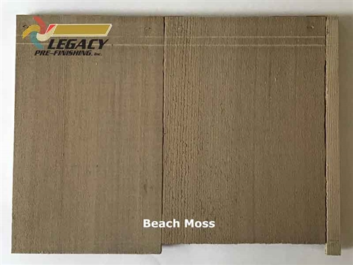 Cedar Valley Shingle Panel, Pre-Finished - Beach Moss
