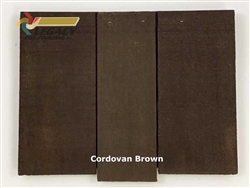 Cedar Valley Shingle Panel, Pre-Finished - Cordovan Brown