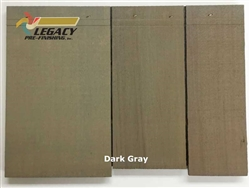 Cedar Valley Shingle Panel, Pre-Finished - Dark Gray