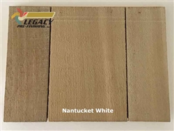 Cedar Valley Shingle Panel, Pre-Finished - Nantucket White