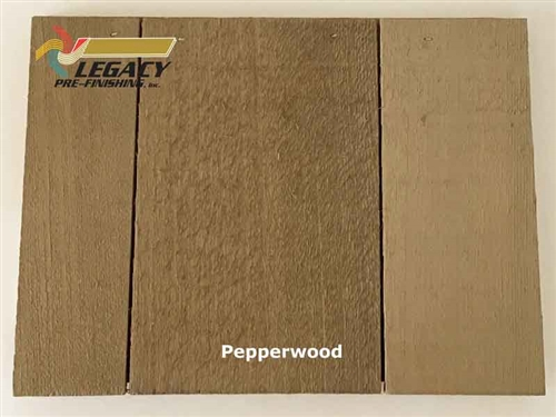 Cedar Valley Shingle Panel, Pre-Finished - Pepperwood