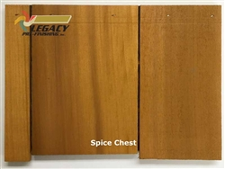 Cedar Valley Shingle Panel, Pre-Finished - Spice Chest