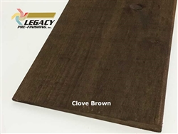 Prefinished Cypress Bevel Siding - Clove Brown