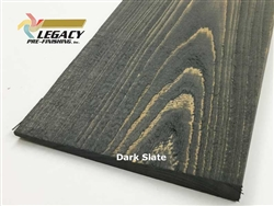 Prefinished Cypress Bevel Siding - Dark Slate Semi-Solid Stain