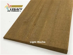 Prefinished Cypress Bevel Siding - Light Mocha Semi-Transparent Stain