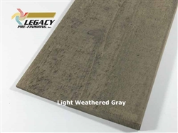 Prefinished Cypress Bevel Siding - Light Weathered Gray