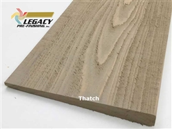 Prefinished Cypress Bevel Siding - Thatch Semi-Solid Stain