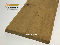 Prefinished Cypress Shiplap Siding - Legacy Oak