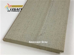 Prefinished Cypress Shiplap Siding - Seacoast Gray
