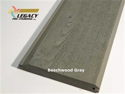 Prefinished Cypress Tongue And Groove Siding - Beechwood Gray Stain