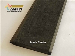Prefinished Cypress Tongue And Groove Siding - Black Cinder
