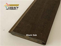 Prefinished Cypress Tongue And Groove Siding - Black Oak