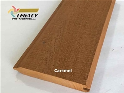 Prefinished Cypress Tongue And Groove Siding - Caramel