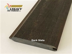Prefinished Cypress Tongue And Groove Siding - Dark Slate Stain