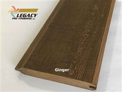 Prefinished Cypress Tongue And Groove Siding - Ginger