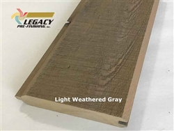 Prefinished Cypress Tongue And Groove Siding - Light Weathered Gray