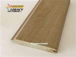 Prefinished Cypress Tongue And Groove Siding - Pepperwood