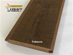 Prefinished Cypress Tongue And Groove Siding - Tobacco
