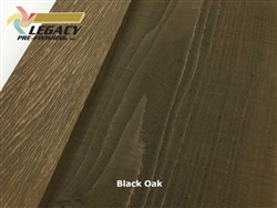 Prefinished Cedar Board and Batten Siding - Black Oak