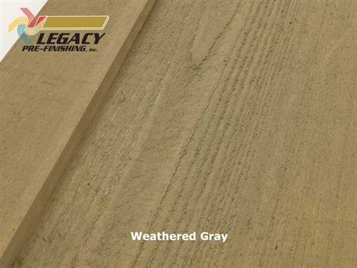 Prefinished Cedar Board and Batten Siding - Weathered Gray