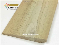 Prefinished Cedar Rabbeted Bevel Siding - Bleaching Stain