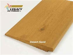 Prefinished Cedar Rabbeted Bevel Siding - Desert Sand