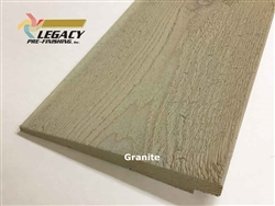 Prefinished Cedar Rabbeted Bevel Siding - Granite
