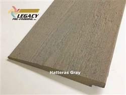 Prefinished Cedar Rabbeted Bevel Siding - Hatteras Gray