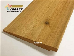 Prefinished Cedar Rabbeted Bevel Siding - Sierra