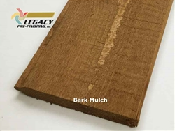 Prefinished Cedar Tongue and Groove Siding - Bark Mulch Stain