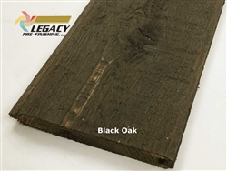 Prefinished Cedar Tongue and Groove Siding - Black Oak Stain