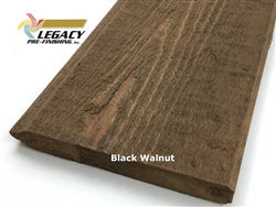 Prefinished Cedar Tongue and Groove Siding - Black Walnut Stain