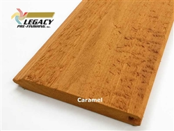 Prefinished Cedar Tongue and Groove Siding - Caramel