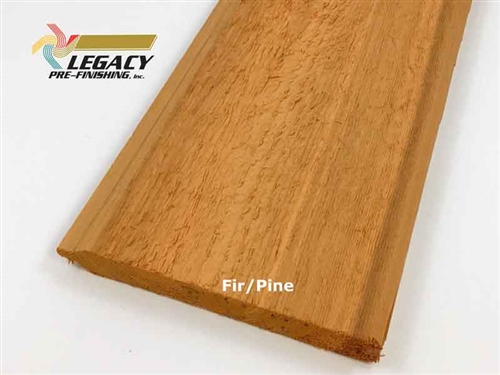 Prefinished Cedar Tongue and Groove Siding - Fir/Pine Stain