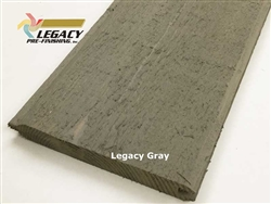 Prefinished Cedar Tongue and Groove Siding - Legacy Gray