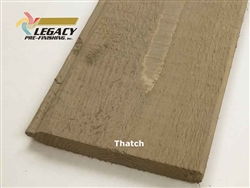 Prefinished Cedar Tongue and Groove Siding - Thatch Stain