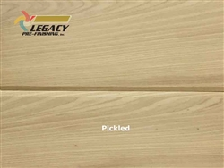 Cypress Prefinished Tongue And Groove V-Joint Boards - Pickled