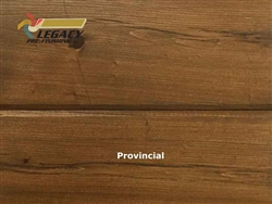 Cypress Prefinished Tongue And Groove Siding V-Joint Paneling - Provincial Stain
