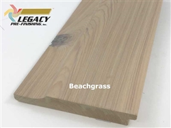 Prefinished Cypress Dutch German Lap Siding - Beachgrass