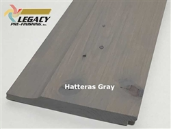 Prefinished Cypress Dutch German Lap Siding - Hatteras Gray
