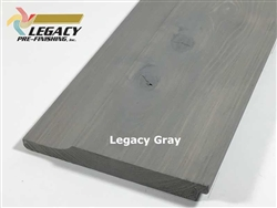 Prefinished Cypress Dutch German Lap Siding - Legacy Gray Stain