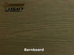 James Hardie, Prefinished CedarMill Lap Siding - Barnboard Stain