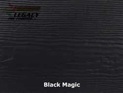 James Hardie, Prefinished CedarMill Lap Siding - Black Magic