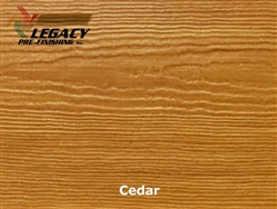James Hardie, Prefinished CedarMill Lap Siding - Cedar Stain