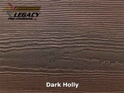 James Hardie, Prefinished Cedarmill Lap Siding - Dark Holly