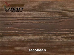 James Hardie, Prefinished Cedarmill Lap Siding - Jacobean