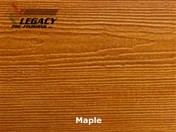 James Hardie, Prefinished CedarMill Lap Siding - Maple Stain