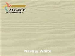 James Hardie, Prefinished Lap Siding - Navajo White